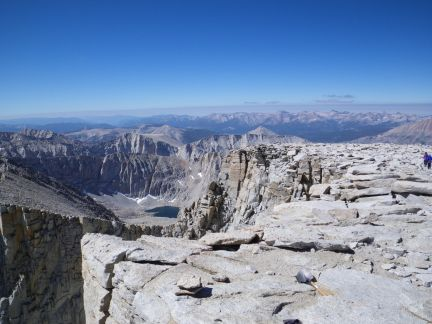 Looking Southwest from Mt. Whitney.